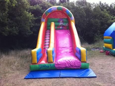 Jungle Bouncy Castle Slide London
