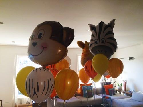 Single Foil Balloons London