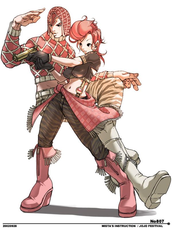 Gun Anime Girl Wallpaper Jojo X Serie Illustrazioni Capcom