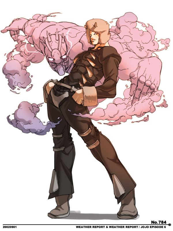 Jojo X Serie  Illustrazioni Capcom