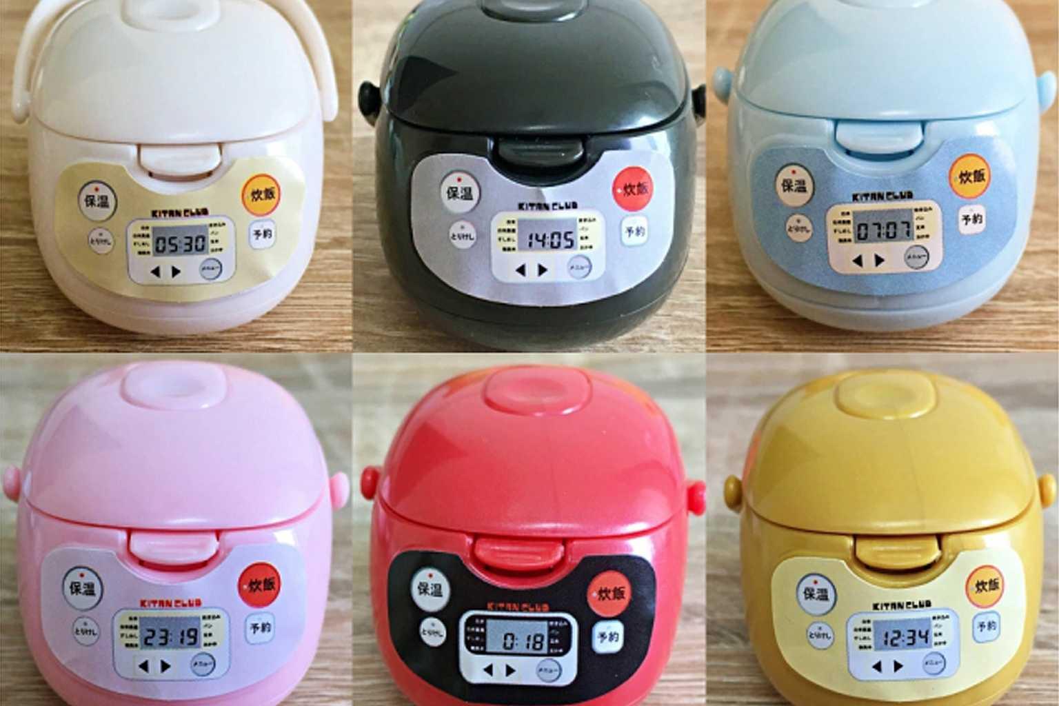 日本超逼真「迷你電鍋扭蛋」紅遍全網! 小配件可拆卸還原度超高 – 爆笑博客