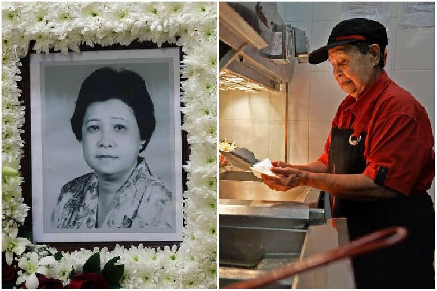 「我不用靠子女養」70 歲應徵麥當勞最老員工 阿嬤工作到「人生最後一刻」離開 – 爆笑博客