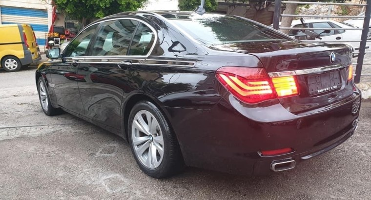 BMW 740 LI model 2011 50% cash 50% cheque