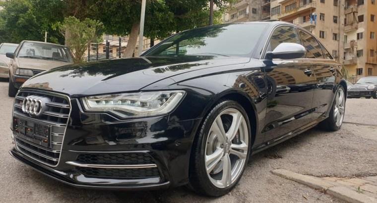 Audi S6 Model 2014 420 hp
