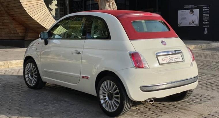 Fiat 500 C 2014
