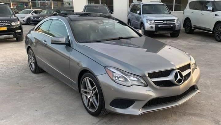 Mercedes E350 Coupe 2014