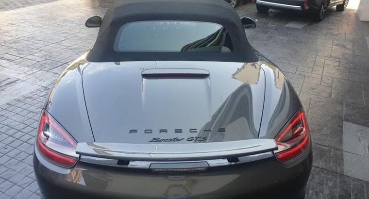 Porsche Boxster GTS 2015