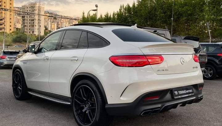 Mercedes GLE 63 s 2016