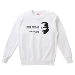 MARTIN LUTHER KING  スウェット(トレーナー)