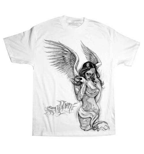 Fallen Shirt Art Angel