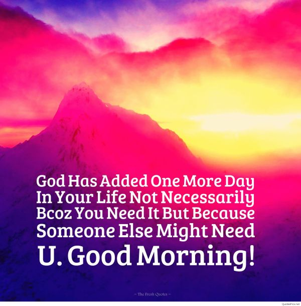 Sweet Good Morning Quotes