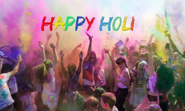 happy holi image 2018