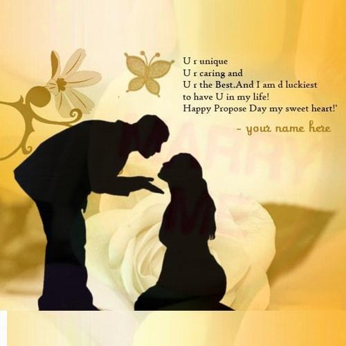 Propose Day Image With Shayari , Quotes And SMS