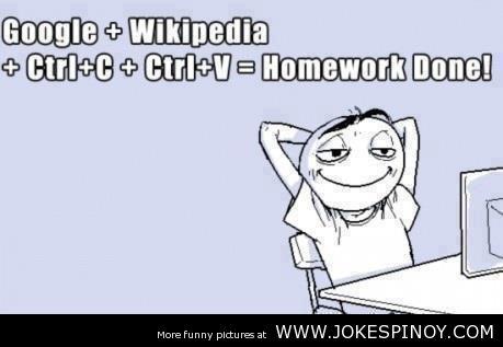 Credits: http://quotesgram.com/quotes-funny-school-homework/