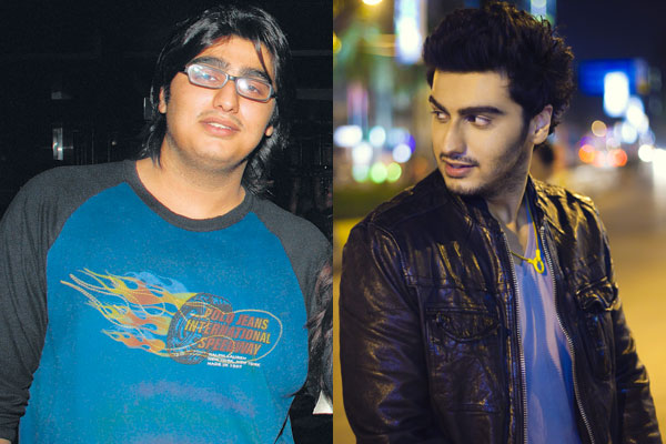 Arjun Kapoor Before and After weight loss