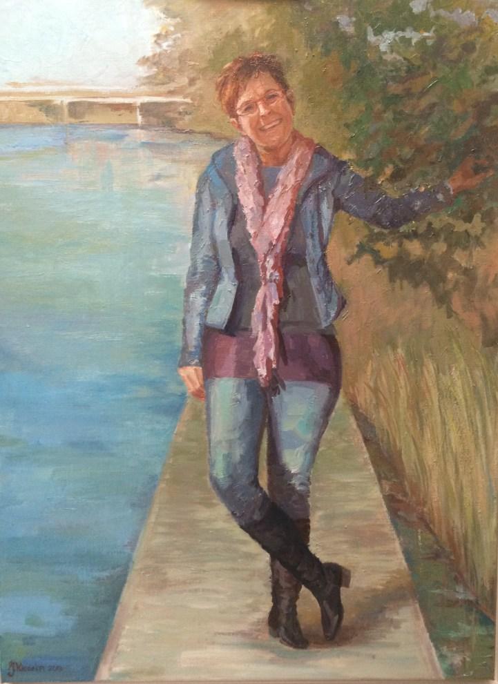 Jetty,1951-2012, olieverf op doek, 60 x 80 cm