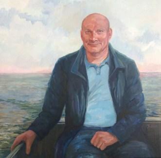 Henk, 1966-2017, olieverf op doek, 75 x 75 cm
