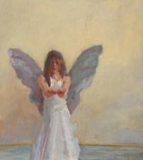 Papillon VIII, olieverf op paneel, 40 x 45 cm
