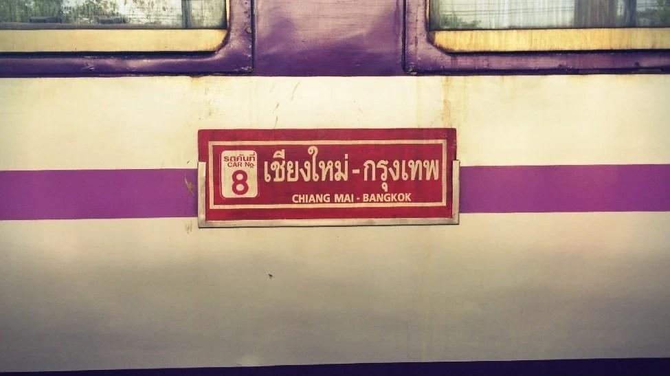 Chiang Mai - Comboio
