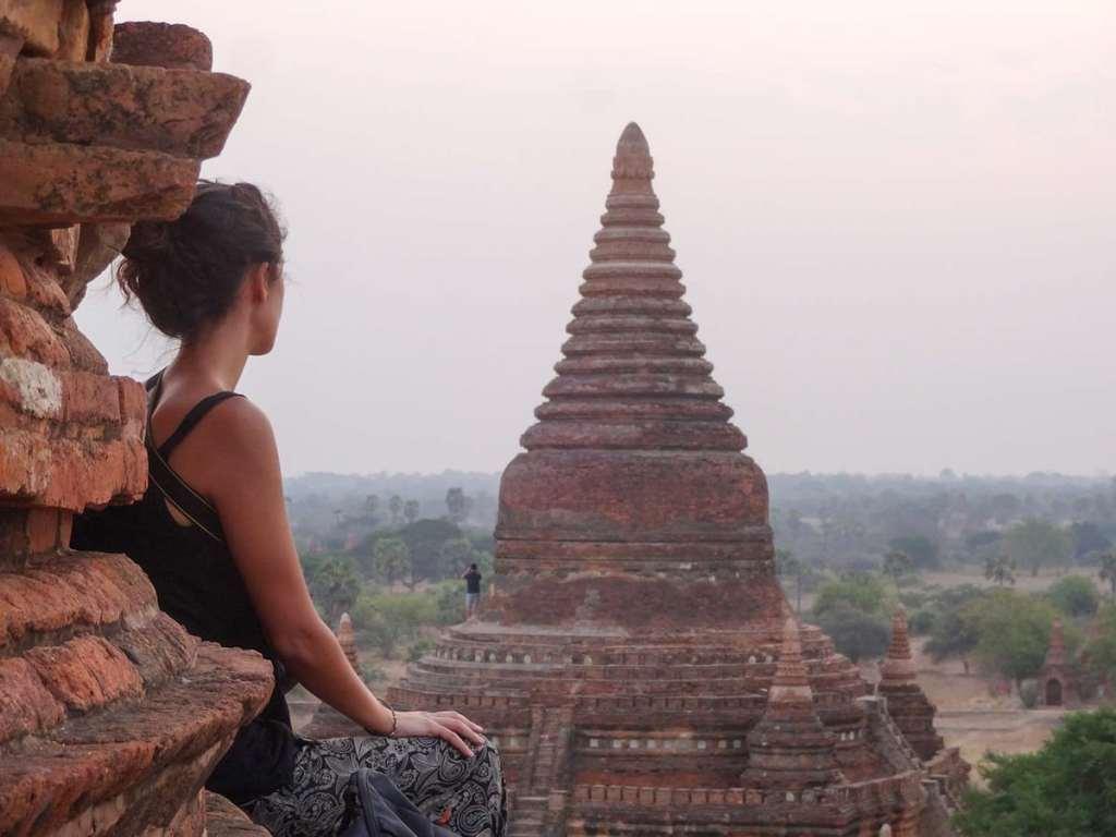 Nascer do Sol em Bagan, Myanmar