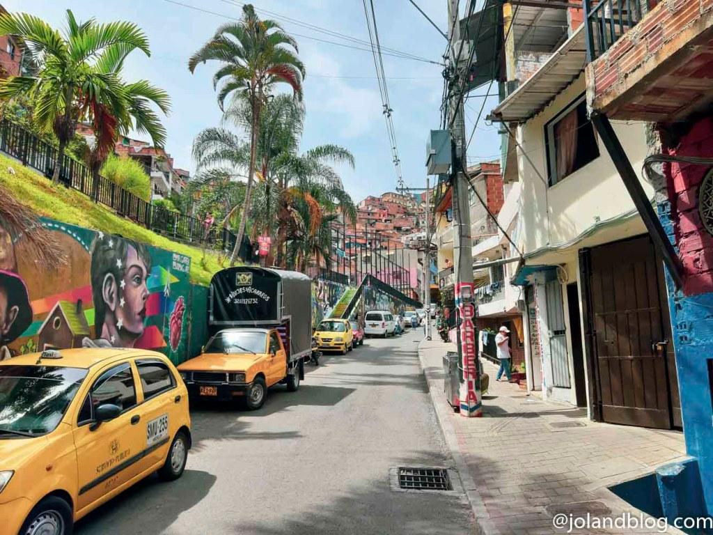 Entrada da Comuna 13 em Medellin