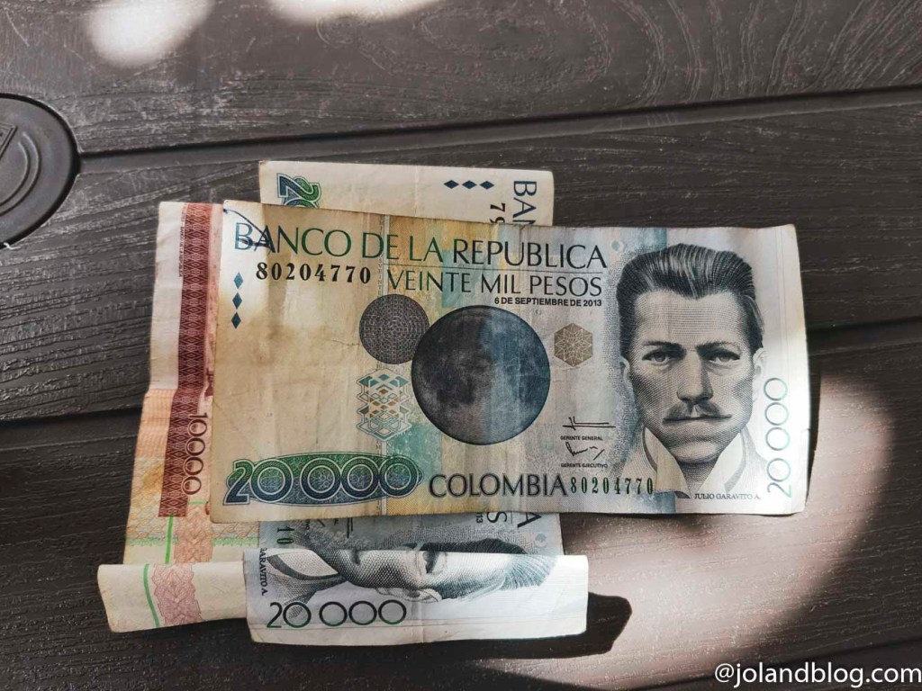 Moeda oficial da Colômbia, Peso