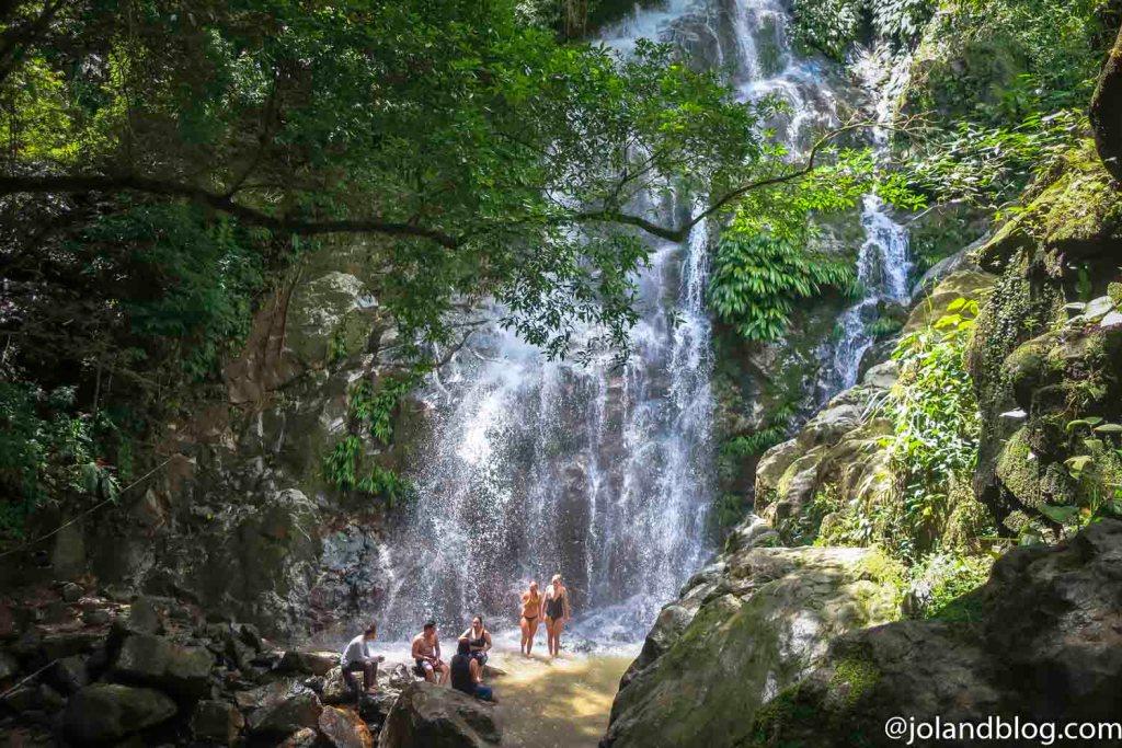 Cascata em Minca na Colômbia