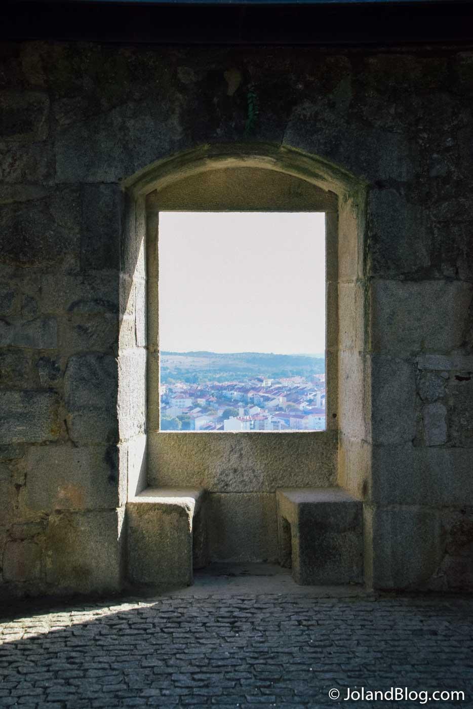 Vista da Torre do castelo de Castelo Branco