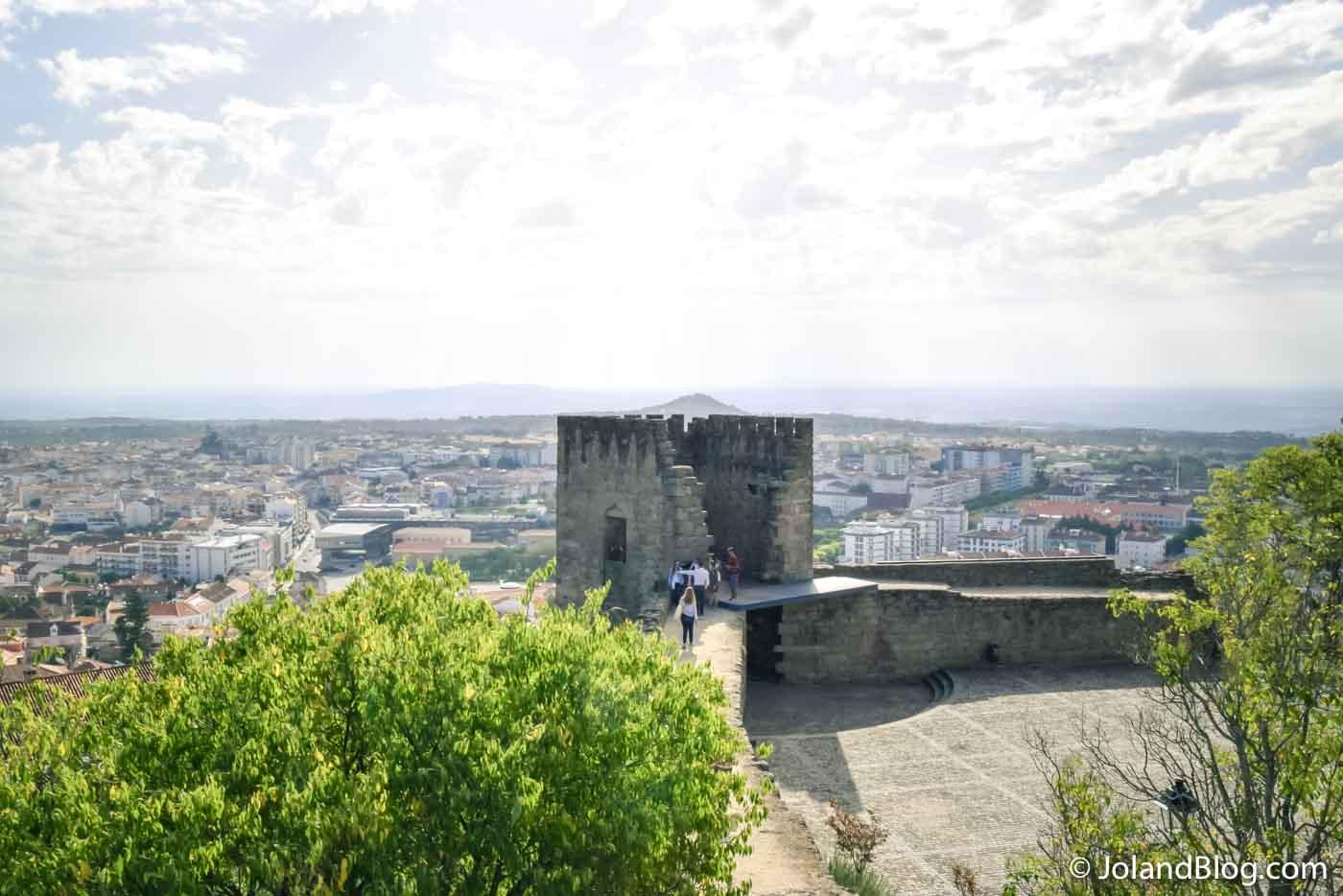 Vista do Castelo de Castelo Branco - Beira Baixa