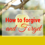 To forgive is not very hard. It's the forgetting part that I struggle with! But you know, most people who say, forgive and forget, they don't even know that it is not biblical. Interesting take on the matter of forgiveness though.