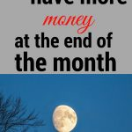 Don't let the month run out leaving you with no money! Here's how to manage that.