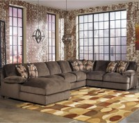 5 Piece Sectional Sofa With Chaise Benchcraft Cresson ...