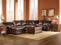 Leather Sectional with Chaise and Recliner | Chaise Design