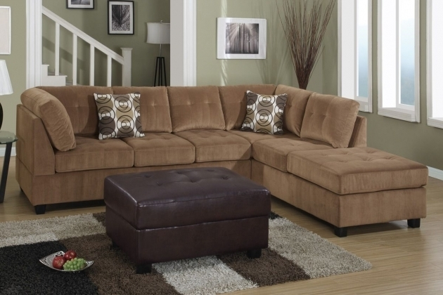 Grey Microfiber Sectional Sofa With Chaise And Cuddle Photo 25 : suede sectional sofa - Sectionals, Sofas & Couches