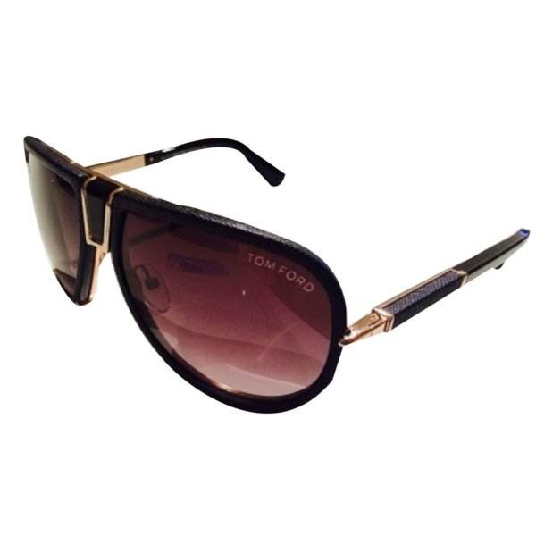 Tom Ford Sunglasses Leather Black Ref.16799