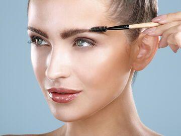 Augenbrauen frben Die richtige Augenbrauenfarbe