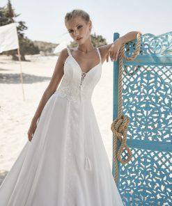 Brudklänning från HerveParis i bohemisk stil. enkla brudklänningar, Bröllopsbutik i Malmö, Bröllopsklänning, Skåne, Bröllopklänning, Brudkjole