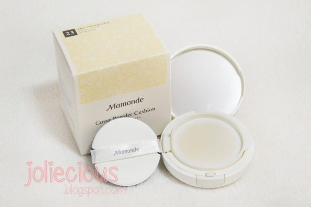 mamonde cover power cushion and missha magic cushion