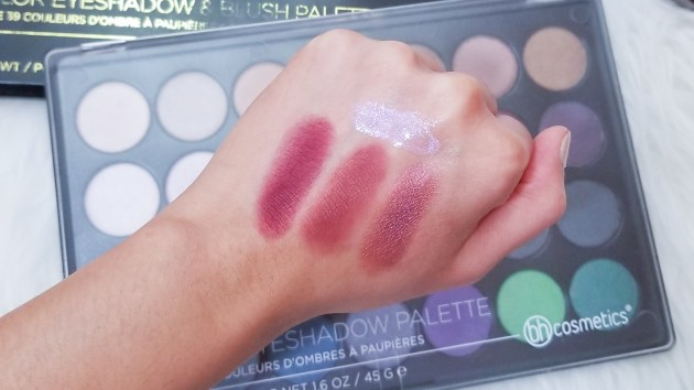 Early Autumn Makeup Tutorial-Swatches
