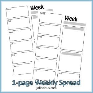 1-page-weekly-spread-bullet-journal-printable