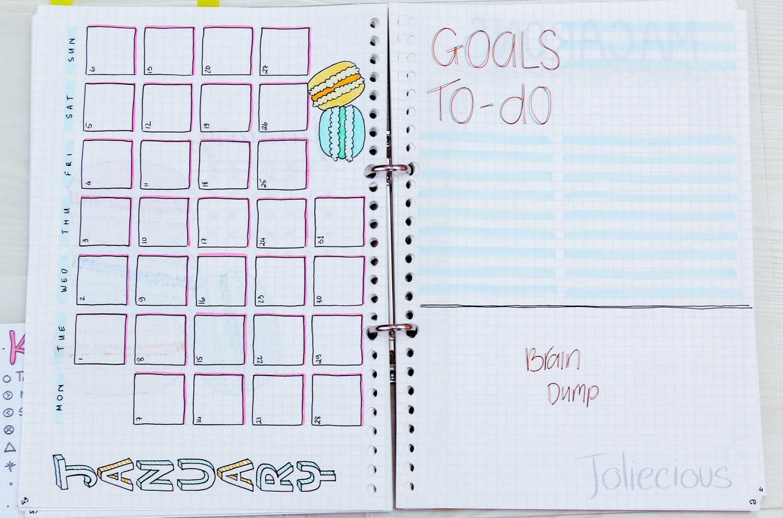 Plan with Me - 2019 January Bullet Journal Setup