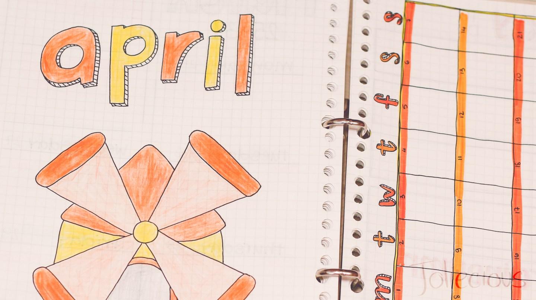april-bullet-journal-setup-windmill-theme (1)