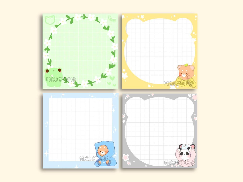 bullet journal stocking stuffers - memo pads