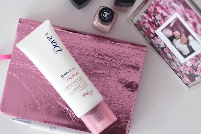 Dove DermaSpa Intensive hand cream (roze)