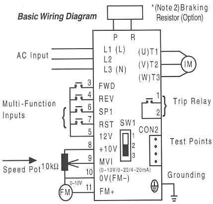 Vfd Starter Wiring Diagram