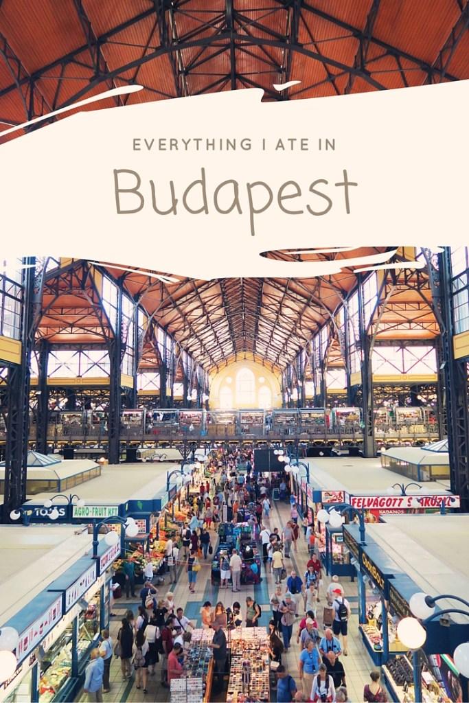Budapest food diary