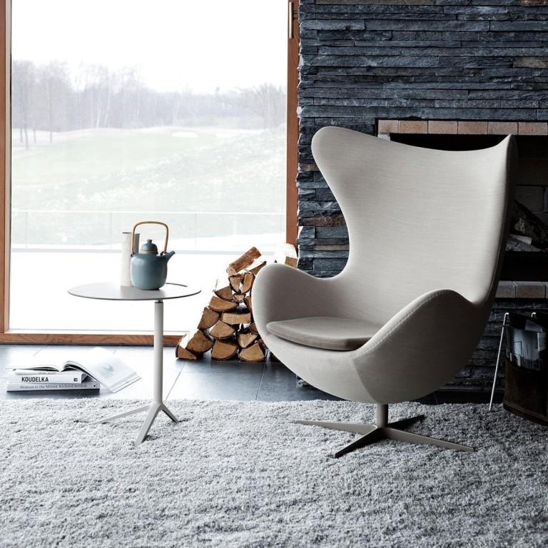 veranda chair design pictures of chaise lounge chairs le fauteuil egg du designer arne jacobsen - joli place