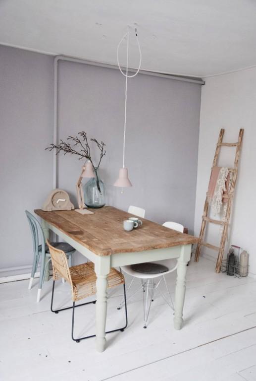 5 idees pour repeindre une table joli