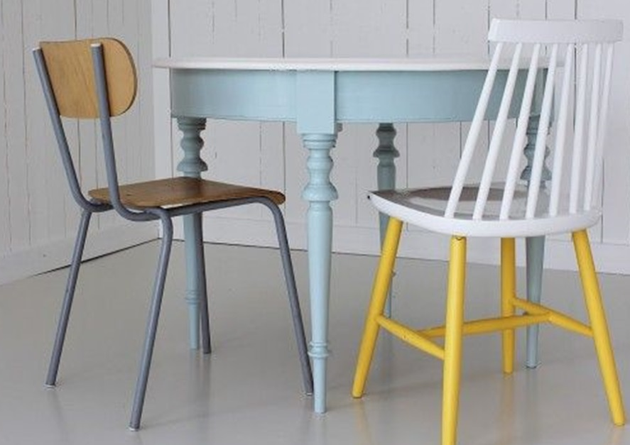 5 ides pour repeindre une table  Joli Place