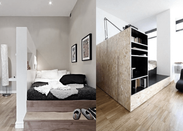 Comment Sparer Une Chambre En Deux Sans Percer Cool Ides